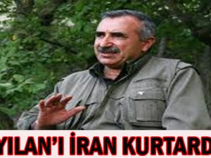 Karayılan&#39ı İran kurtardı