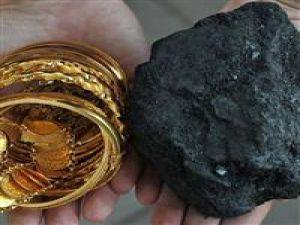 Kömür altınla yarışıyor