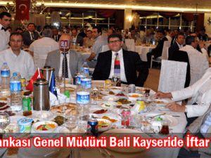 Türkiye İş banakası genel müdürü bali