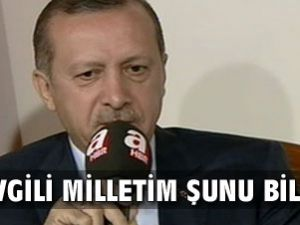 Erdoğan&#39dan &#39Ne işin var orada&#39ya yanıt