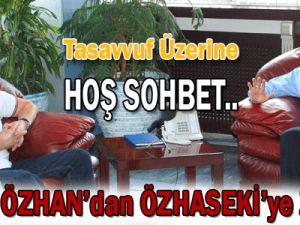 Başkan Özhaseki, Ahmet Özhan&#39la bir araya geldi