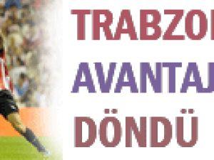 Trabzon 10 kişiyle avantajı kaptı!
