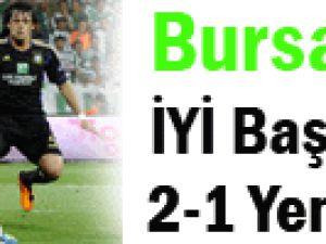 Bursaspor iyi başladı kötü bitirdi!