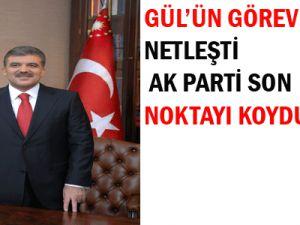AK Parti Gül&#39ün görev süresi netleşti
