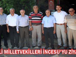 AK Partili  Milletvekilleri İncesu&#39Yu Ziyaret  Etti