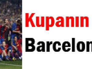 Kupanın sahibi FC Barcelona oldu