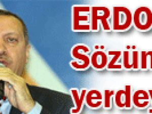 Erdoğan: Sözün bittiği yerdeyiz!