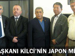 Kto Başkanı Kilci&#39nin Japon Misafiri
