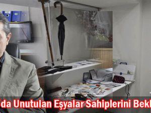 Kayseray'da Unutulan Eşyalar Sahiplerini Bekliyor
