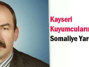 Kayseri Kuyumcularından Somaliye  Yardım