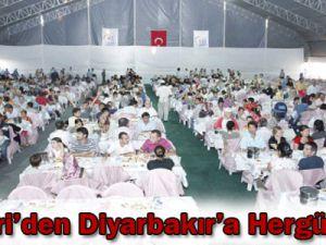 Kayseri Her Gün Diyarbakır&#39da 3 Bin Kişilik İftar  Sofrası Kuruyor