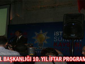 AK PARTİ 10 YAŞINDA