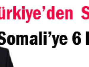 Türkiye&#39den Somali&#39ye 6 hastane