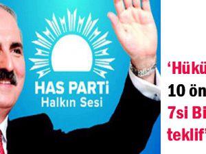 Ak Parti Hükümetin 10 önleminin 7&#39si bizim teklif&#39 Numan Kurtulmuş