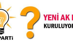 Yeni bir AK Parti kuruluyor