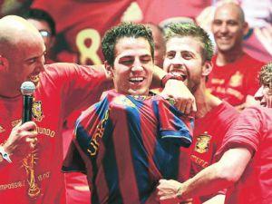 Ve Barcelona muradına erdi!