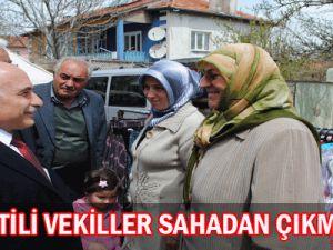 AK Partili Vekiller Sahadan Çıkmıyor