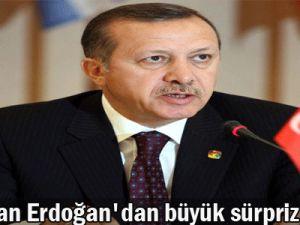 Başbakan Erdoğan&#39dan büyük sürpriz?