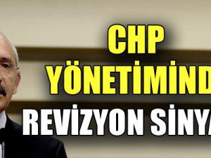 CHP yönetiminde ilk revizyon sinyali!