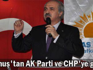 Kurtulmuş&#39tan AK Parti ve CHP&#39ye görev