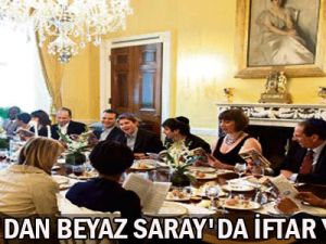Obama&#39Dan Beyaz Saray&#39Da İftar Yemeği