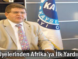 KAYSO Üyelerinden Afrika'ya İlk Yardım