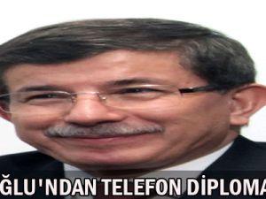 Davutoğlu&#39ndan Telofon Diplomasisi