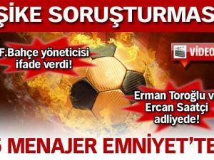 5 menajer Emniyet&#39te!