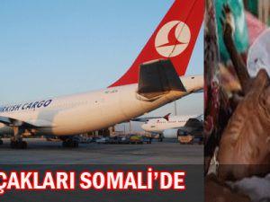 Türk Halıkının Uçakları Somali&#39ye Ulaştı