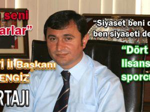 AK PARTİ Kayseri İl Başkanı Ömer DENGİZ Röportajı
