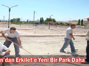 Kocasinan'dan Erkilet'e Yeni Bir Park Daha