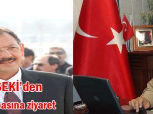 Mehmet Özhaseki&#39den Ziyaret