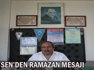Memur-sen  Ramazan Mesajı Yayımladı