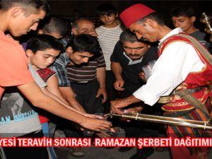 Talas  Belediyesi  Teravih  Sonrası  Ramazan  Şerbeti