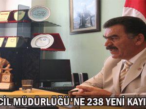 Esnaf  SicilL  Müdürlüğü&#39Ne 238 Yeni  Kayıt  Yapıldı