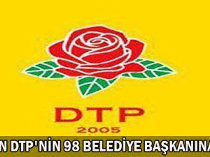 Kapatılan  DTP&#39Nin  98 Belediye  Başkanına  Dava