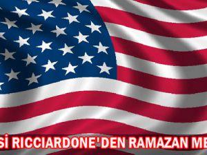 Rıccıardone&#39Den  Ramazan  Mesajı