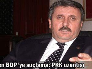 Destici&#39den BDP&#39ye suçlama: PKK uzantısı