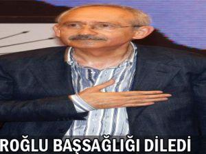 Kılıçdaroğlu  Başsağlığı  Diledi
