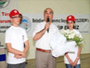 Talas Yaz Okullarına Görkemli Kapanış
