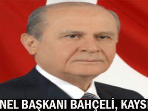 MHP GENEL BAŞKANI BAHÇELİ, KAYSERİ&#39DE