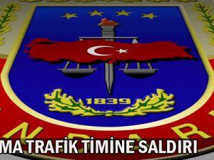 Jandarma  Trafik Timine Saldırı 1astsubay şehit oldu 2 yaralı