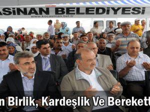 Ramazan Birlik, Kardeşlik ve Berekettir