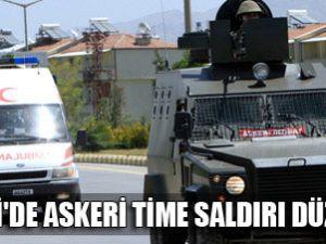 Şemdinli&#39de çatışma çıktı: 1 asker şehit