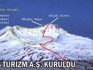 ERCİYES TURİZM A.Ş. KURULDU