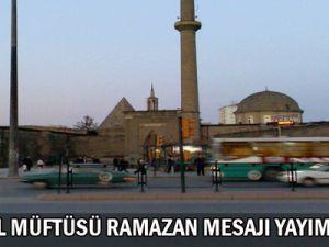 Kayseri  İl  Müftüsü Maraşlıgil Ramazan Ayı Nedeniyle Mesaj Yayımladı