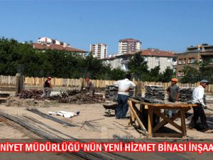 Talas İlçe Emniyet binası İnşaat Yapımı Devam Ediyor