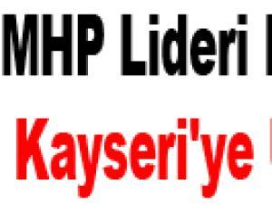 MHP Lideri Bahçeli Kayseri'ye Uğradı