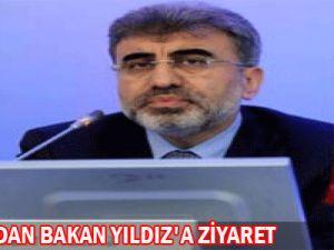 Müsiad&#39dan Bakan Yıldız&#39a Ziyaret