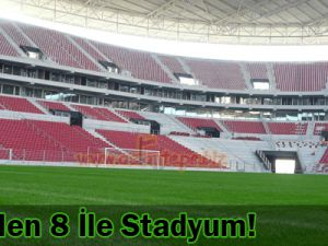 TOKİ&#39den 9 Stadyum Daha